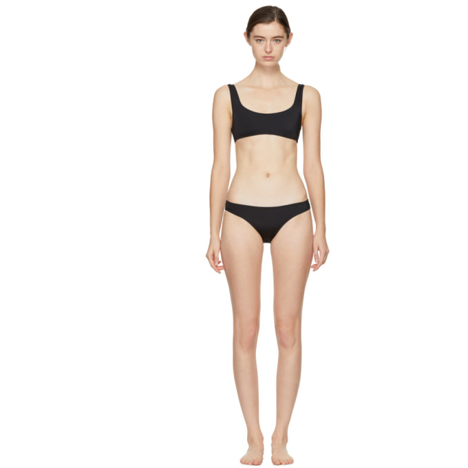 Image of Solid & Striped Black 'The Elle' Bikini
