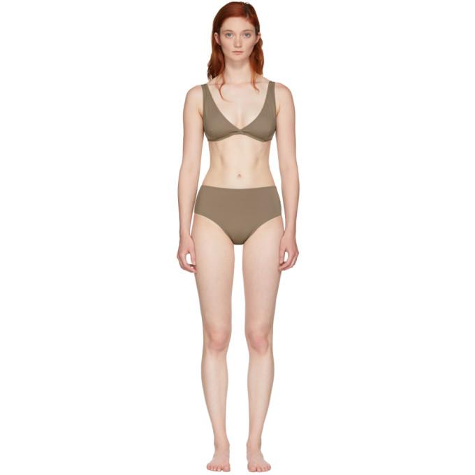 Solid & Striped Brown The Beverly Bikini