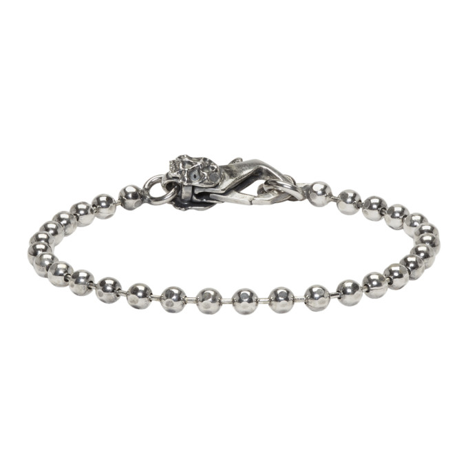 Image of Emanuele Bicocchi Silver Disco Chain Bracelet
