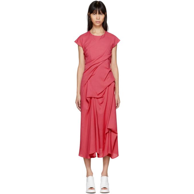 Sies Marjan Pink Paloma Twist Pickup Dress