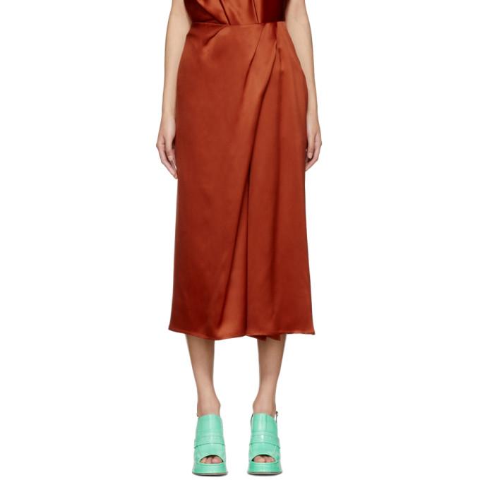 Sies Marjan Orange Mae Twist Skirt