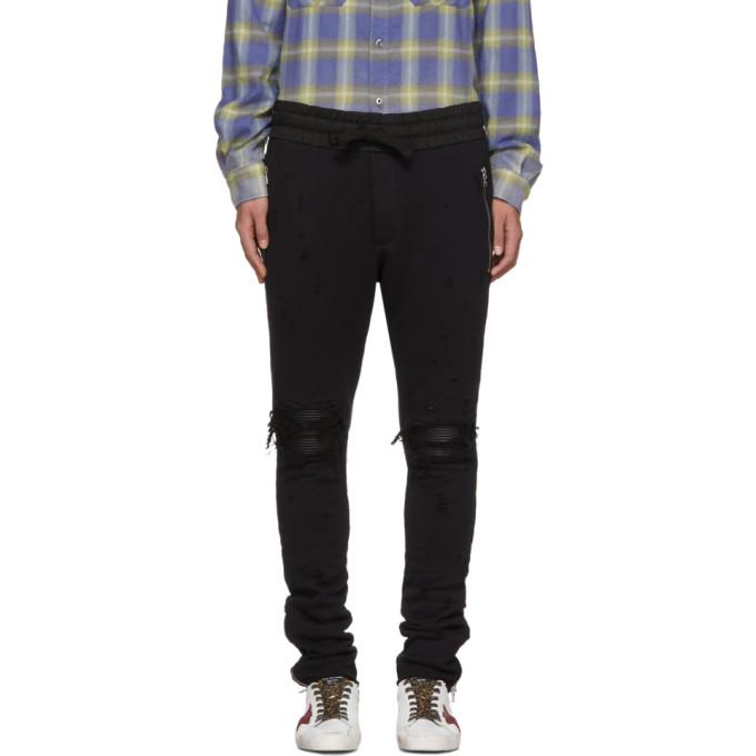 Image of Amiri Black MX1 Lounge Pants