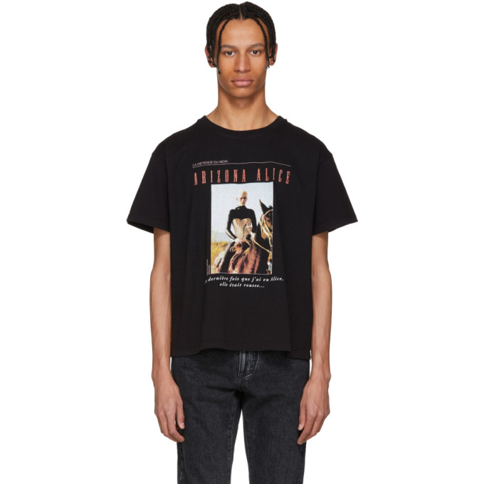 Image of Enfants Riches Déprimés Black 'Arizona Alice' T-Shirt