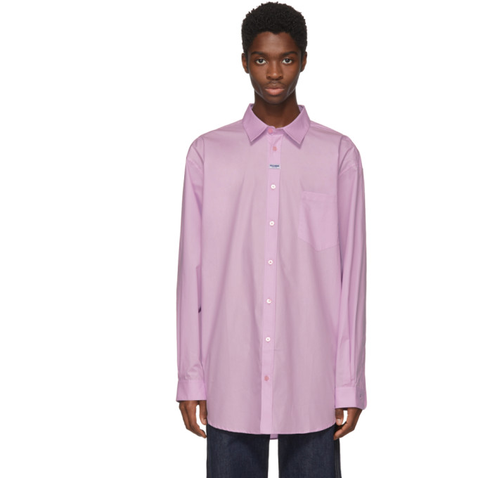 Image of Martine Rose Pink Oxford shirt