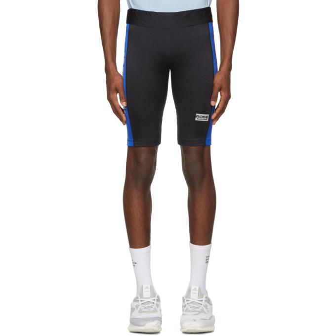 Martine Rose Black & Blue Cycling Shorts