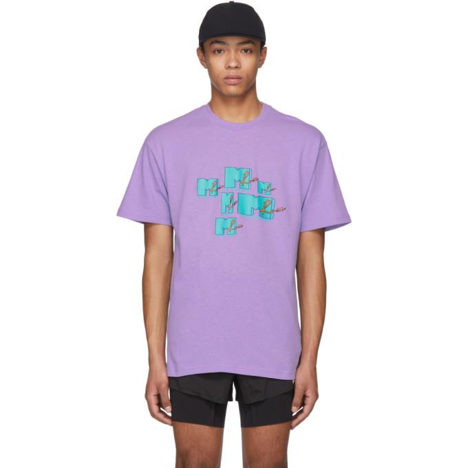 Martine Rose Purple MTV T-Shirt