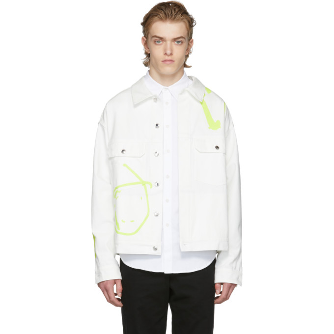 Image of Rochambeau White Denim Short Jacket