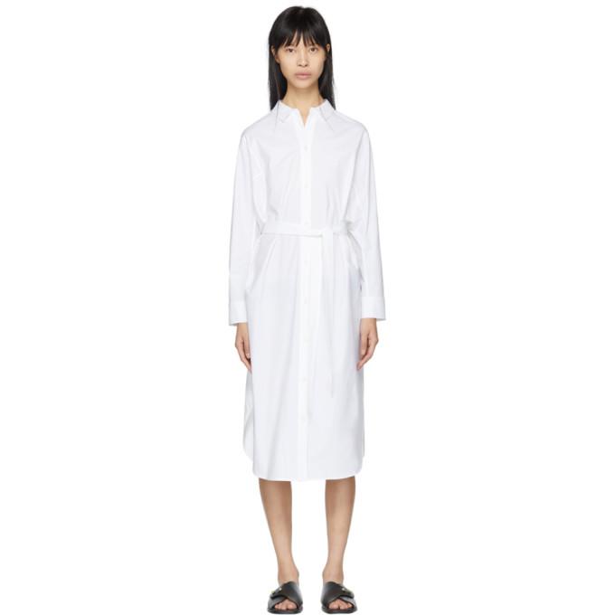 Kuho White Tonet Shirt Dress