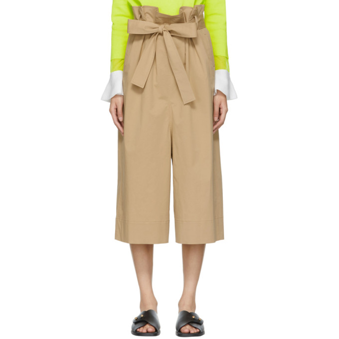 Kuho Beige Funis Culottes