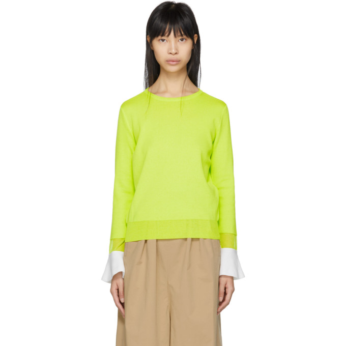 Image of Kuho Yellow Doni Pullover