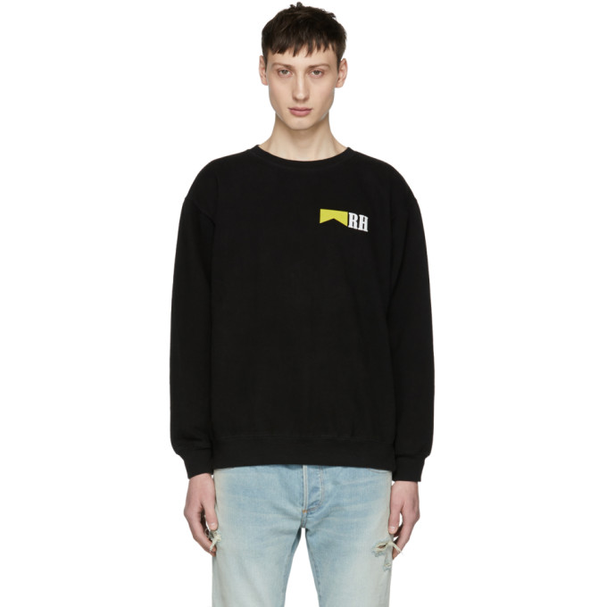 Image of Rhude Black Marlboro Sweatshirt