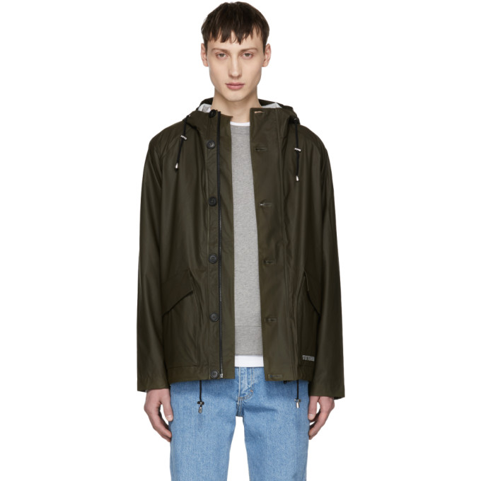 Image of Stutterheim Green Stenhamra Raincoat