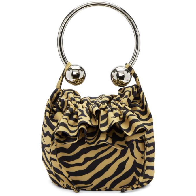 Image of Ashley Williams Brown & Black Tiger Piercing Bag