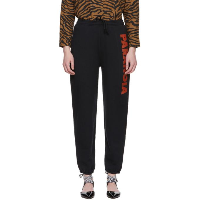 Image of Ashley Williams Black Paranoia Lounge Pants
