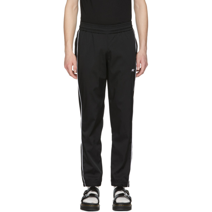 Image of Resort Corps Black & White Logo Lounge Pants