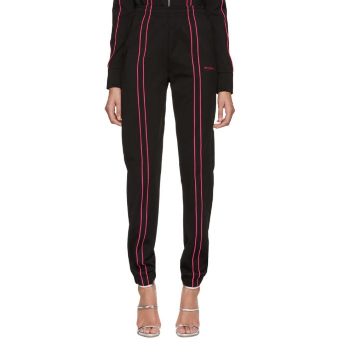 Image of MISBHV Black & Pink Aspen Track Pants