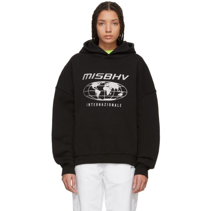Image of MISBHV Black 'Internazionale' Hoodie