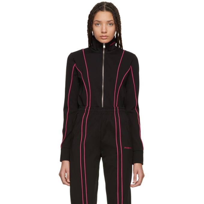 Image of MISBHV Black & Pink Aspen Track Jacket
