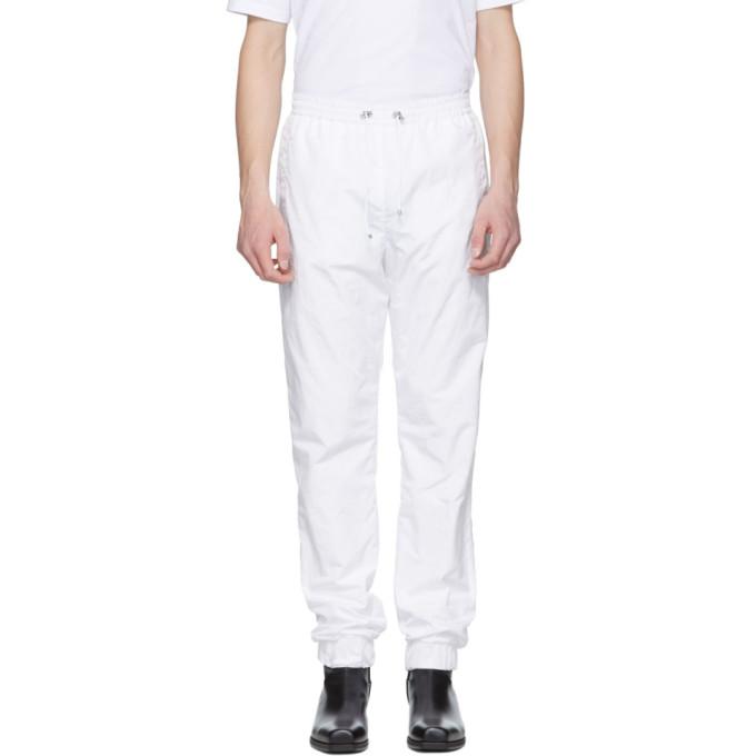 MISBHV White Sport Track Pants