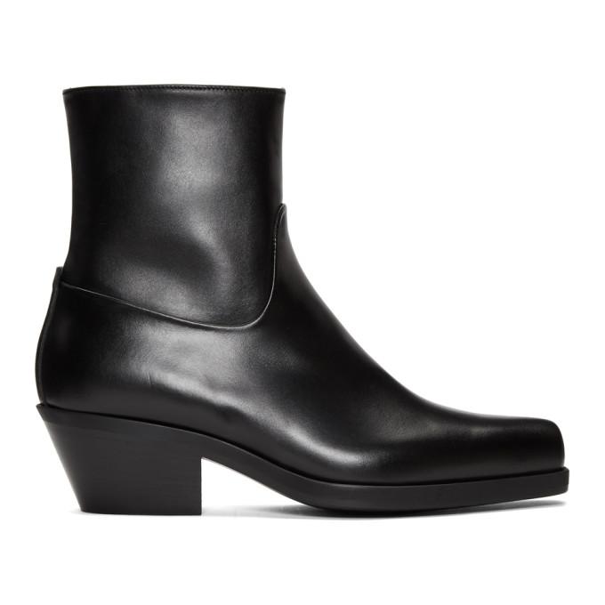 Image of MISBHV Black Iggy Cowboy Boots