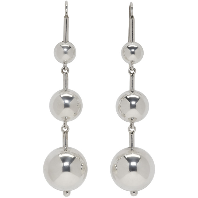 Image of Sophie Buhai Silver Maryam Earrings
