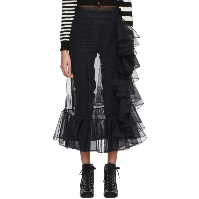 Image of Molly Goddard Black September Skirt