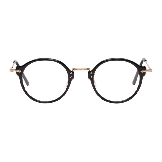 Image of Eyevan 7285 Black 'Model E507' Glasses