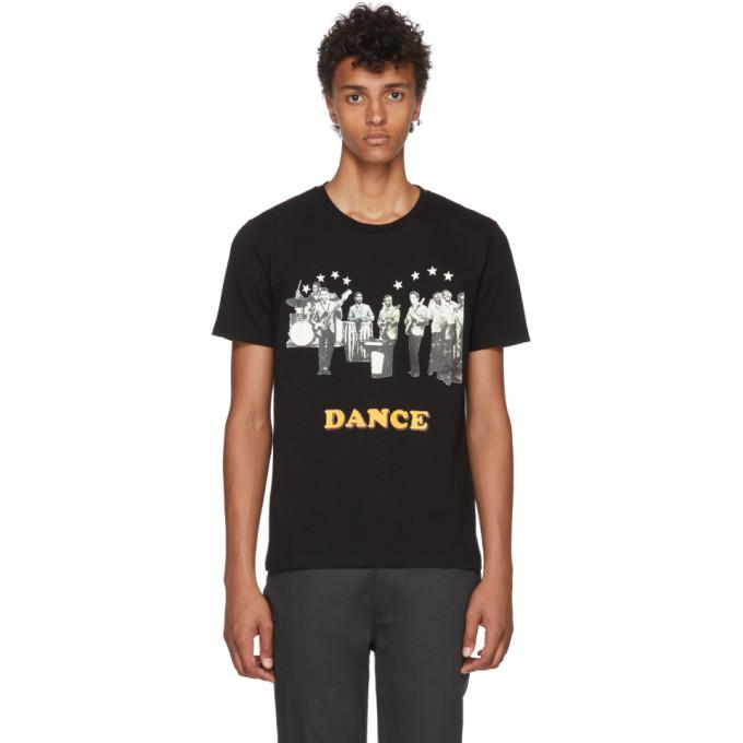 Image of Wacko Maria Black 'Dance' Heavyweight T-Shirt