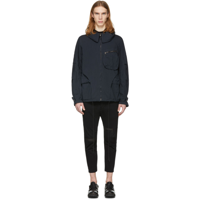 The Viridi-anne Black Hooded Jacket