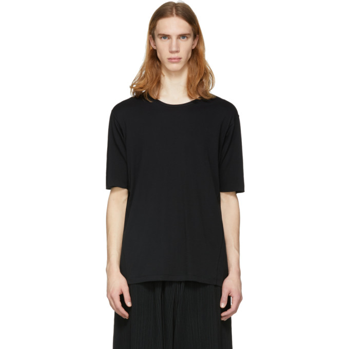 Image of The Viridi-anne Black Crewneck T-Shirt