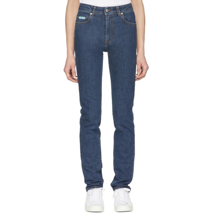 Alexachung Blue Slim Jeans