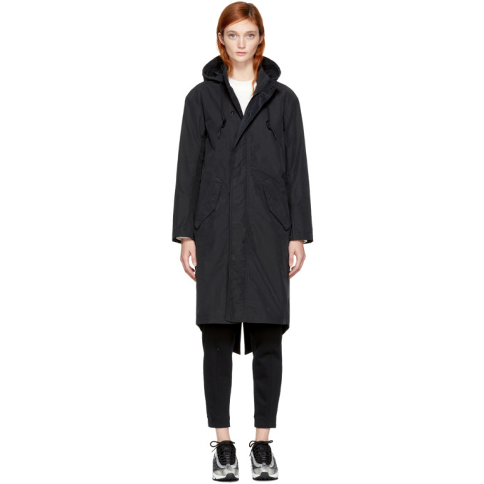 Image of NikeLab Black Essentials Parka