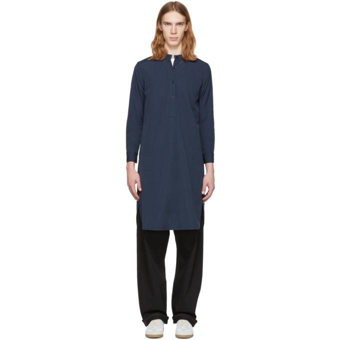 Image of Bianca Chandon Navy Unisex Long Tunic