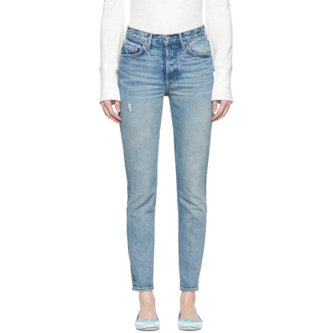 Image of Grlfrnd Blue Karolina Jeans