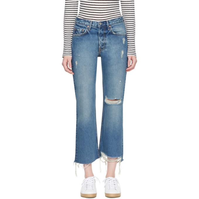 Grlfrnd Blue Linda Jeans