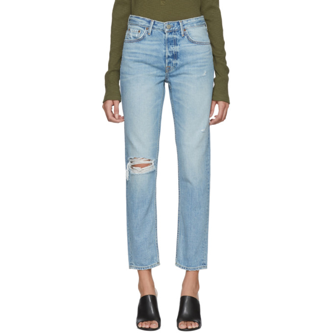 Grlfrnd Blue Klara Jeans