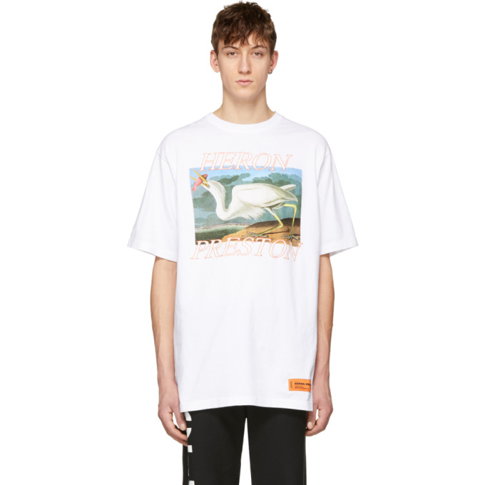 Heron Preston White Heron T-Shirt