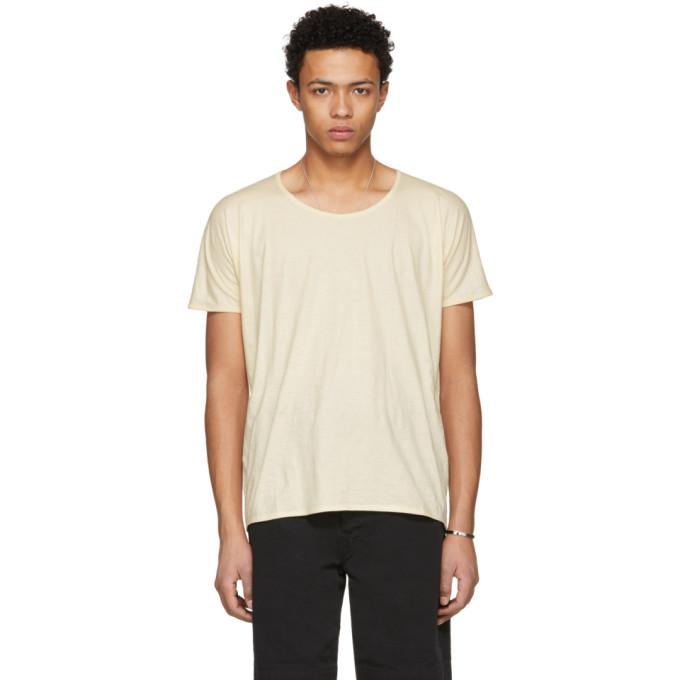 Image of Jan-Jan Van Essche Beige Bio Cotton T-Shirt