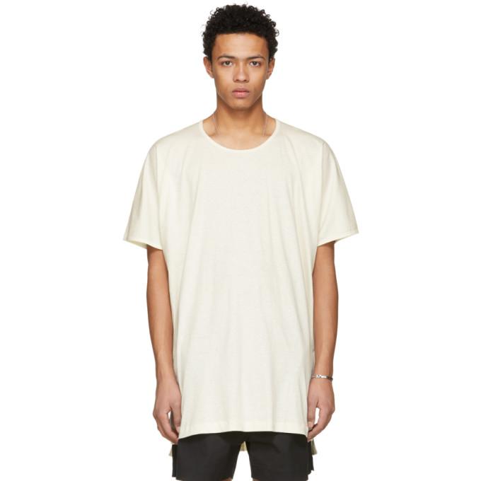 Image of Jan-Jan Van Essche Beige Long T-Shirt