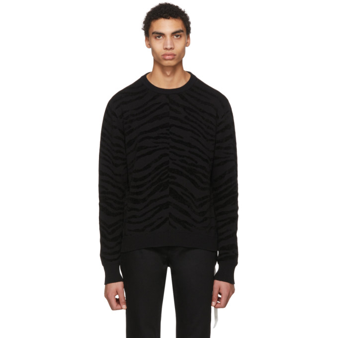 TAKAHIROMIYASHITA TheSoloist. Black Tiger Sweater