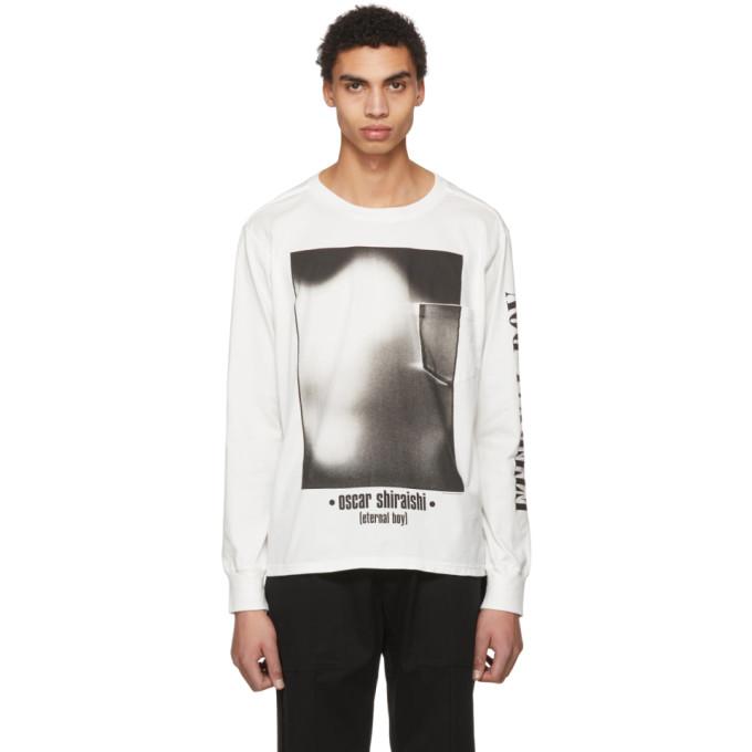TAKAHIROMIYASHITA TheSoloist. White Eternal Boy T-Shirt