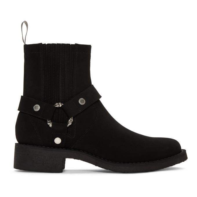 TAKAHIROMIYASHITA TheSoloist. Black Harness Boots
