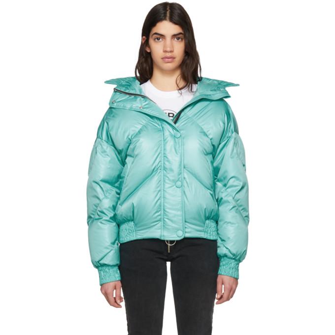 Image of Ienki Ienki Blue Dunlop Down Puffer Jacket