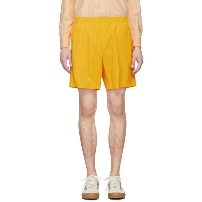 Image of paa Gold Nylon Shorts