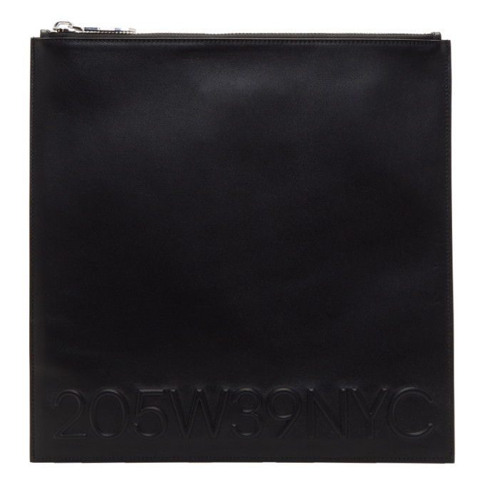 Image of Calvin Klein 205W39NYC Black Large Simple Pouch