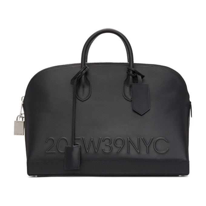 Calvin Klein 205W39NYC Black Simple Bugatti Bag