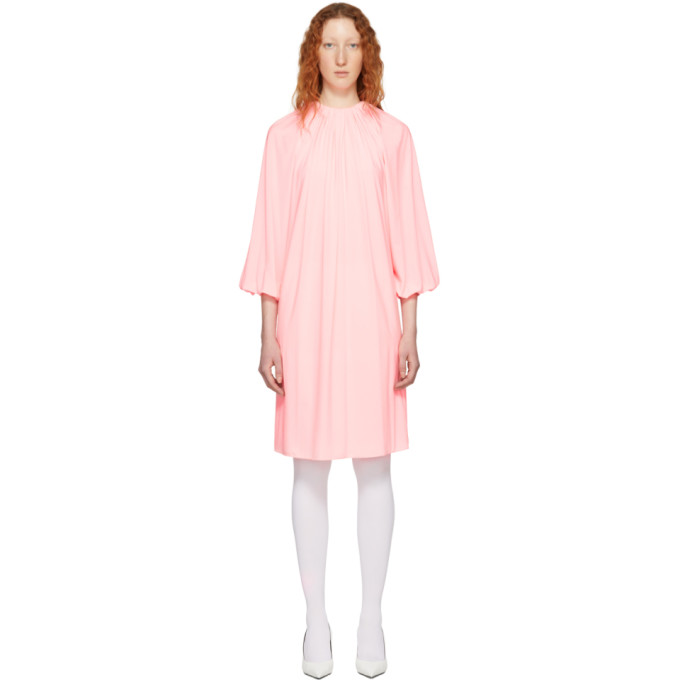 Calvin Klein 205W39NYC Pink Long Sleeve Dress