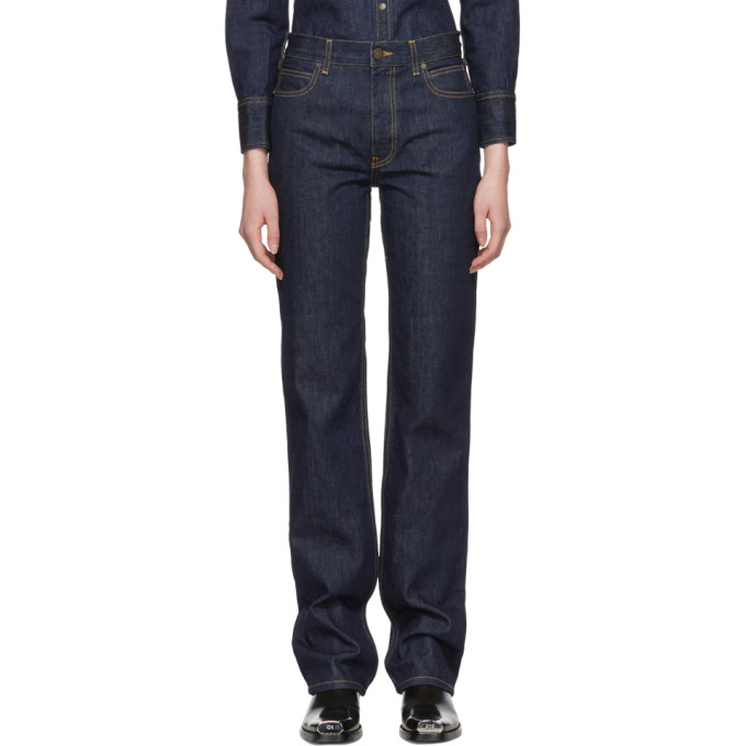 Image of Calvin Klein 205W39NYC Blue Brooke Jeans