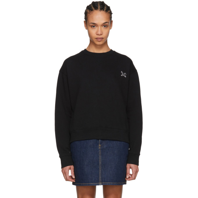 Image of Calvin Klein 205W39NYC Black Brooke Sweatshirt