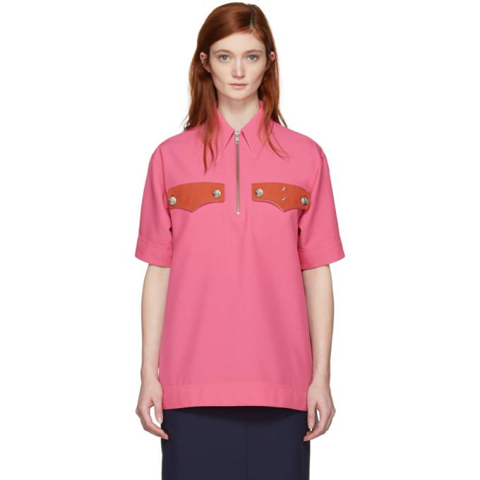 Calvin Klein 205W39NYC Pink Western Pocket Shirt
